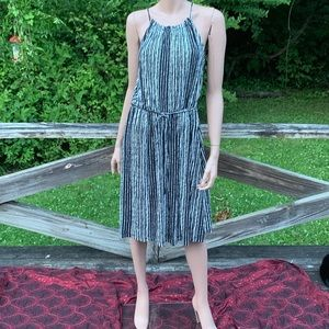 LOFT Dresses - LOFT Sleeveless Halter Sheath Dress Black